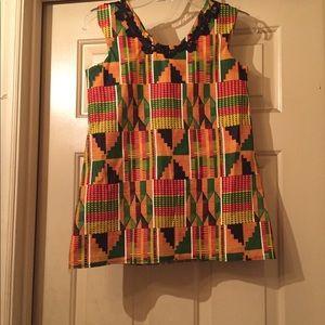 Other - Child's kente cloth dress.